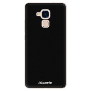 Silikonové pouzdro iSaprio 4Pure černé na mobil Honor 7 Lite