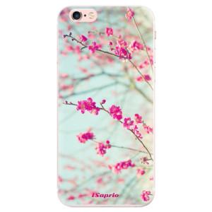 Silikonové pouzdro iSaprio (mléčně zakalené) Blossom 01 na mobil Apple iPhone 6 Plus/6S Plus