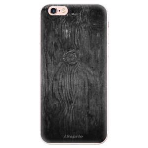 Silikonové pouzdro iSaprio (mléčně zakalené) Black Wood 13 na mobil Apple iPhone 6 Plus/6S Plus