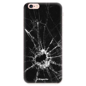 Silikonové pouzdro iSaprio (mléčně zakalené) Broken Glass 10 na mobil Apple iPhone 6 Plus/6S Plus