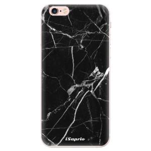 Silikonové pouzdro iSaprio (mléčně zakalené) Black Marble 18 na mobil Apple iPhone 6 Plus/6S Plus