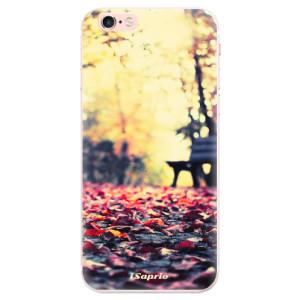 Silikonové pouzdro iSaprio (mléčně zakalené) Bench 01 na mobil Apple iPhone 6 Plus/6S Plus