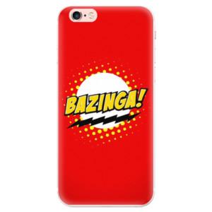 Silikonové pouzdro iSaprio (mléčně zakalené) Bazinga 01 na mobil Apple iPhone 6 Plus/6S Plus