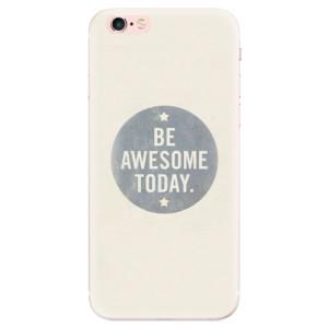 Silikonové pouzdro iSaprio (mléčně zakalené) Awesome 02 na mobil Apple iPhone 6 Plus/6S Plus