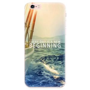 Silikonové pouzdro iSaprio (mléčně zakalené) Beginning na mobil Apple iPhone 6 Plus/6S Plus