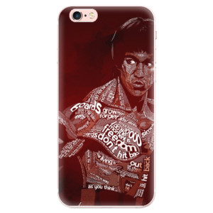 Silikonové pouzdro iSaprio (mléčně zakalené) Bruce Lee na mobil Apple iPhone 6 Plus/6S Plus