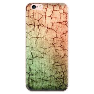 Silikonové pouzdro iSaprio (mléčně zakalené) Rozpraskaná Zeď 01 na mobil Apple iPhone 6 Plus/6S Plus