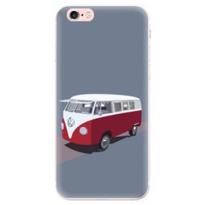 Silikonové pouzdro iSaprio (mléčně zakalené) VW Bus na mobil Apple iPhone 6 Plus/6S Plus