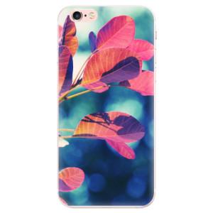 Silikonové pouzdro iSaprio (mléčně zakalené) Podzim 01 na mobil Apple iPhone 6 Plus/6S Plus