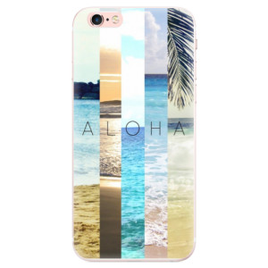Silikonové pouzdro iSaprio (mléčně zakalené) Aloha 02 na mobil Apple iPhone 6 Plus/6S Plus