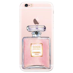 Silikonové pouzdro iSaprio (mléčně zakalené) Chanel Rose na mobil Apple iPhone 6 Plus/6S Plus