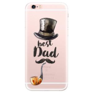 Silikonové pouzdro iSaprio (mléčně zakalené) Best Dad na mobil Apple iPhone 6 Plus/6S Plus