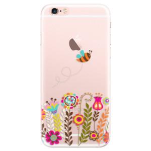 Silikonové pouzdro iSaprio (mléčně zakalené) Včelka Pája 01 na mobil Apple iPhone 6 Plus/6S Plus