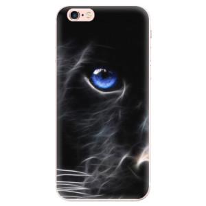 Silikonové pouzdro iSaprio (mléčně zakalené) Black Puma na mobil Apple iPhone 6 Plus/6S Plus