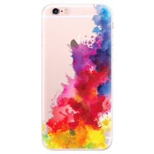 Silikonové pouzdro iSaprio (mléčně zakalené) Color Splash 01 na mobil Apple iPhone 6 Plus/6S Plus
