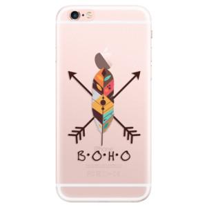 Silikonové pouzdro iSaprio (mléčně zakalené) BOHO na mobil Apple iPhone 6 Plus/6S Plus