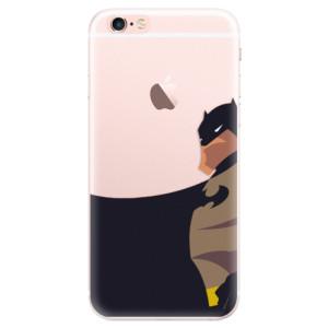 Silikonové pouzdro iSaprio (mléčně zakalené) BaT Komiks na mobil Apple iPhone 6 Plus/6S Plus