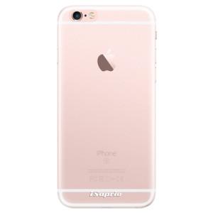 Silikonové pouzdro iSaprio 4Pure mléčné bez potisku na mobil Apple iPhone 6 Plus/6S Plus