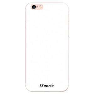 Silikonové pouzdro iSaprio 4Pure bílé na mobil Apple iPhone 6 Plus/6S Plus