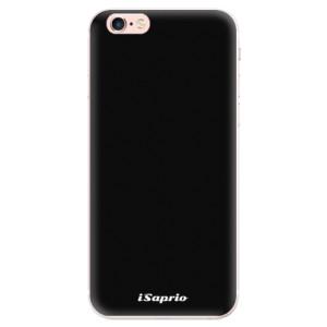Silikonové pouzdro iSaprio 4Pure černé na mobil Apple iPhone 6 Plus/6S Plus