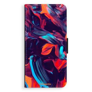 Flipové pouzdro iSaprio Barevný mramor 19 na mobil Samsung Galaxy J6