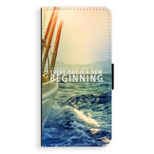 Flipové pouzdro iSaprio Beginning na mobil Samsung Galaxy J6