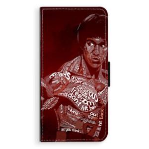 Flipové pouzdro iSaprio Bruce Lee na mobil Samsung Galaxy J6
