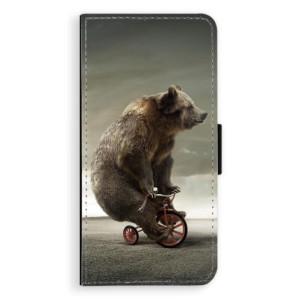 Flipové pouzdro iSaprio Medvěd 01 na mobil Samsung Galaxy J6