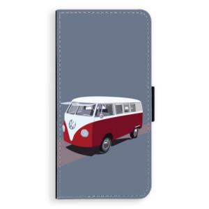 Flipové pouzdro iSaprio VW Bus na mobil Samsung Galaxy J6