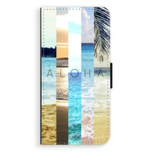 Flipové pouzdro iSaprio Aloha 02 na mobil Samsung Galaxy J6