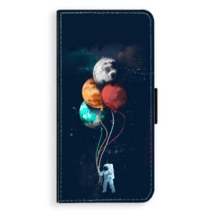 Flipové pouzdro iSaprio Balónky 02 na mobil Samsung Galaxy J6