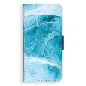 Flipové pouzdro iSaprio Blue Marble na mobil Samsung Galaxy J6