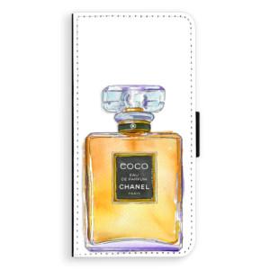 Flipové pouzdro iSaprio Chanel Gold na mobil Samsung Galaxy J6