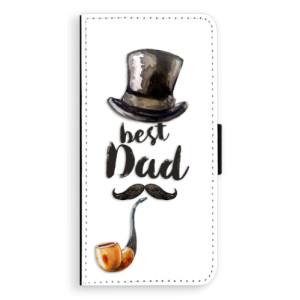 Flipové pouzdro iSaprio Best Dad na mobil Samsung Galaxy J6