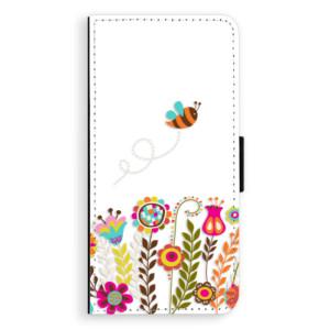 Flipové pouzdro iSaprio Včelka Pája 01 na mobil Samsung Galaxy J6