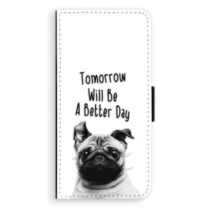 Flipové pouzdro iSaprio Better Day 01 na mobil Samsung Galaxy J6