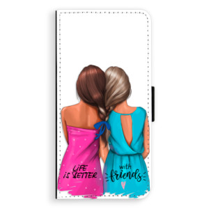 Flipové pouzdro iSaprio Best Friends na mobil Samsung Galaxy J6