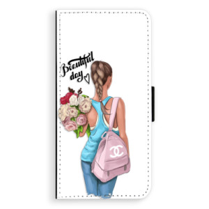 Flipové pouzdro iSaprio Beautiful Day na mobil Samsung Galaxy J6