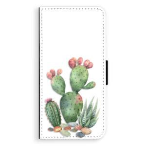 Flipové pouzdro iSaprio Kaktusy 01 na mobil Samsung Galaxy J6