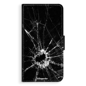 Flipové pouzdro iSaprio Broken Glass 10 na mobil Apple iPhone XR