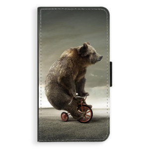 Flipové pouzdro iSaprio Medvěd 01 na mobil Apple iPhone XR