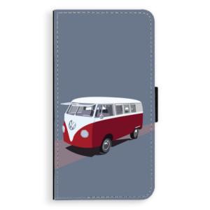 Flipové pouzdro iSaprio VW Bus na mobil Apple iPhone XR
