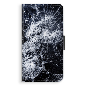 Flipové pouzdro iSaprio Praskliny na mobil Apple iPhone XR