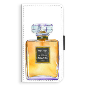 Flipové pouzdro iSaprio Chanel Gold na mobil Apple iPhone XR