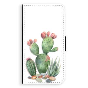 Flipové pouzdro iSaprio Kaktusy 01 na mobil Apple iPhone XR