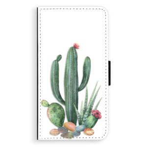 Flipové pouzdro iSaprio Kaktusy 02 na mobil Apple iPhone XR