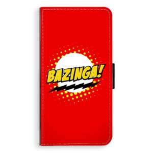 Flipové pouzdro iSaprio Bazinga 01 na mobil Apple iPhone XS Max