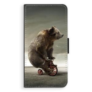 Flipové pouzdro iSaprio Medvěd 01 na mobil Apple iPhone XS Max