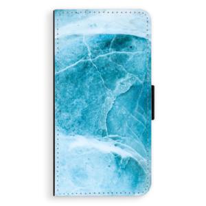 Flipové pouzdro iSaprio Blue Marble na mobil Apple iPhone XS Max