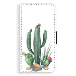 Flipové pouzdro iSaprio Kaktusy 02 na mobil Apple iPhone XS Max